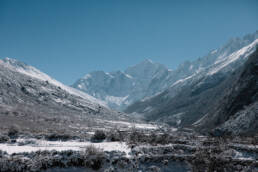 Langtang vaellus Nepal